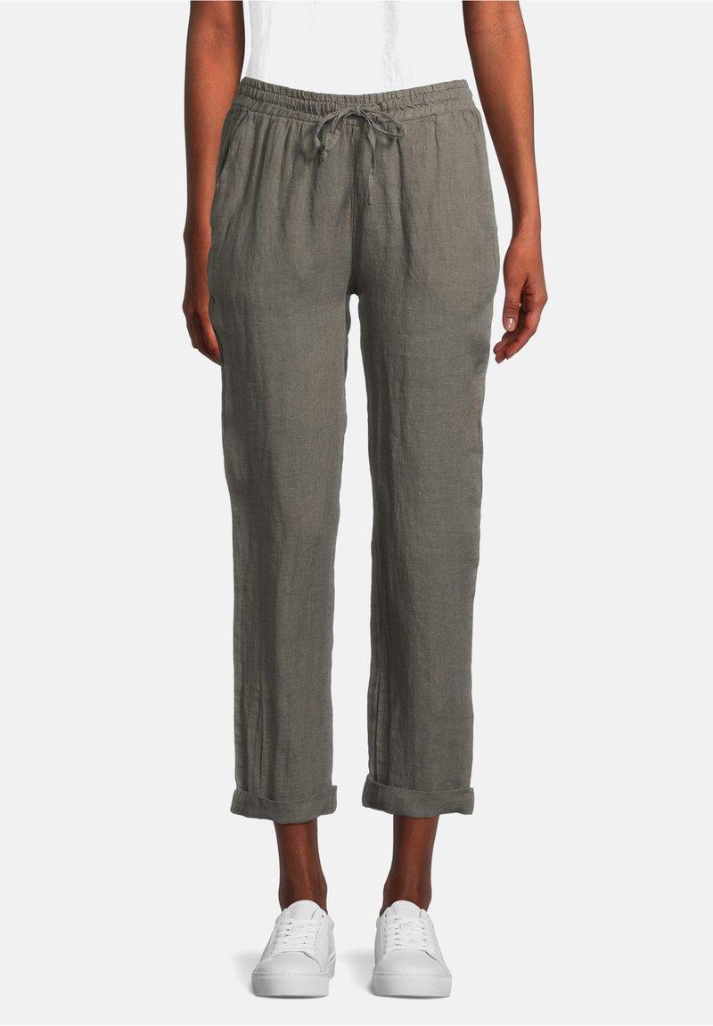 Cartoon - Trousers - linen green