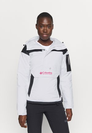 CHALLENGER - Winter jacket - white/black