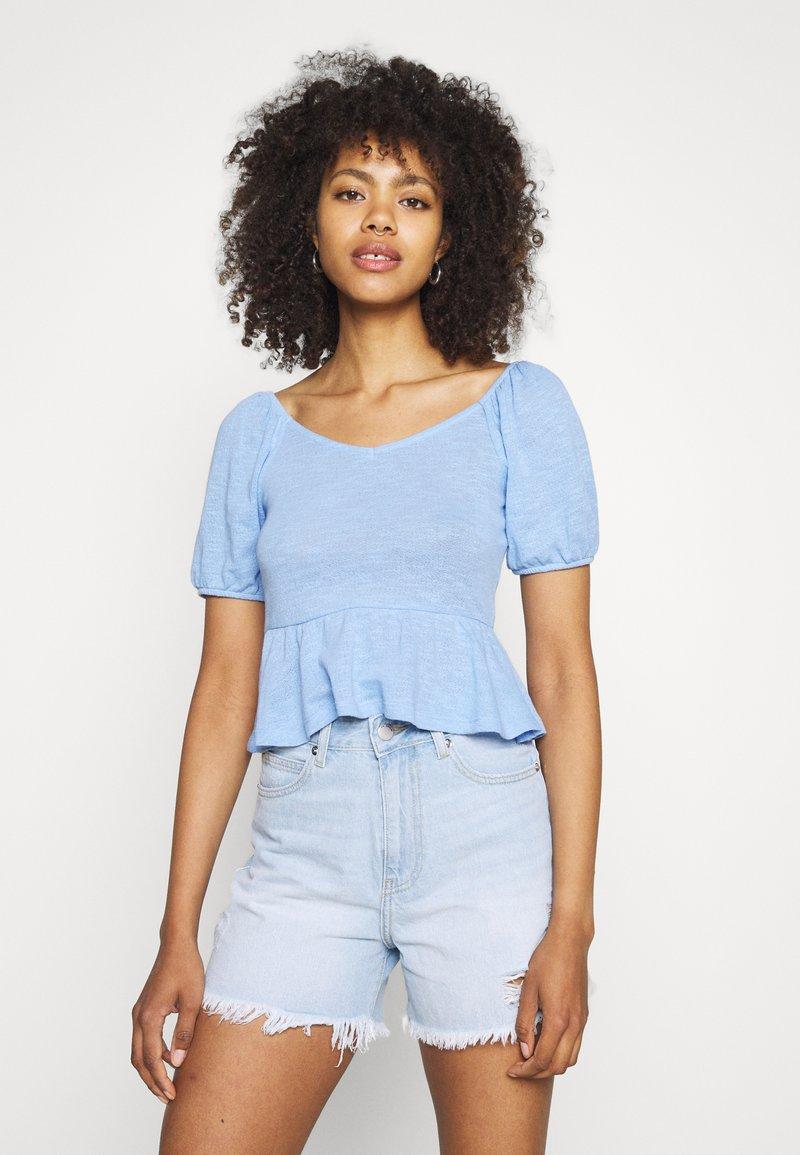 Pieces - PCTENZIN - T-shirt basic - vista blue