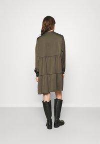 Samsøe Samsøe - MARGO DRESS - Day dress - black olive - 2