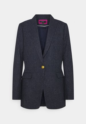 LARKE IN HERRINGBONE - Manteau court - navy