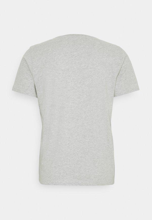 Pepe Jeans AITOR - T-shirt z nadrukiem - grey marl/szary Odzież Męska RBVK