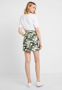 TWINTIP - A-line skirt - green - 3
