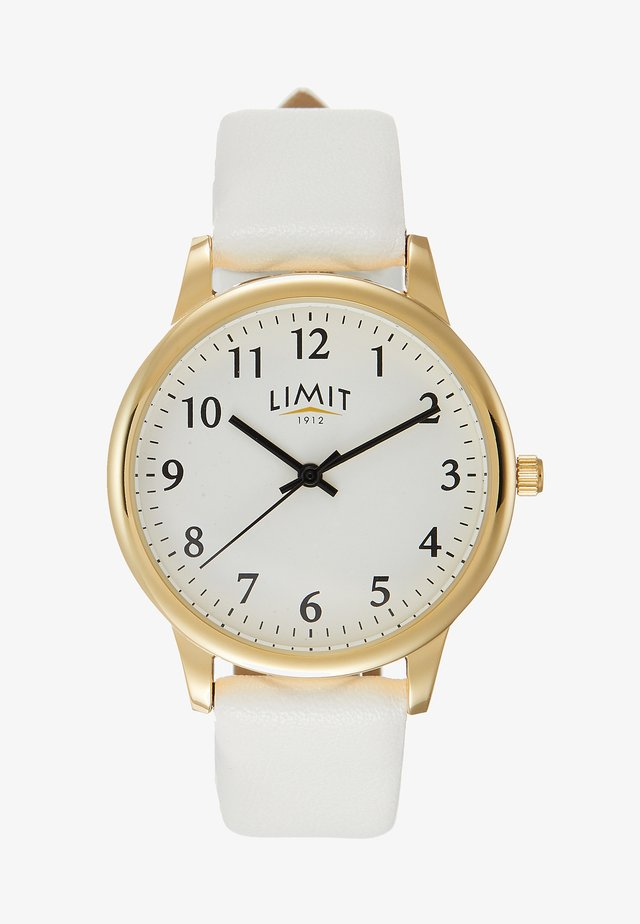 LADIES STRAP WATCH - Watch - white