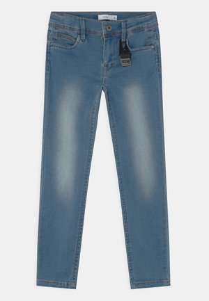 NMMSOFUS KEY - Straight leg jeans - light blue denim