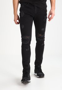 Tigha - MORTEN  - Jeans Slim Fit - vintage black - 0