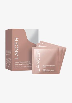 LANCER MAKE-UP ENTFERNER MAKEUP REMOVING WIPES - Makeup remover - -