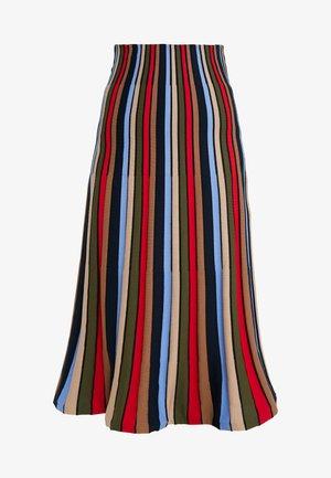 A-line skirt - multicolore