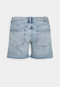 GAP Petite - DEST - Denim shorts - light pacific - 1