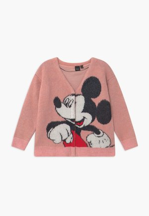 DISNEY MICKEY MOUSE - Chaqueta de punto - light pink