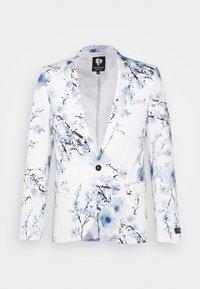 Twisted Tailor - BLOSSOM SUIT - Suit - white blue - 1