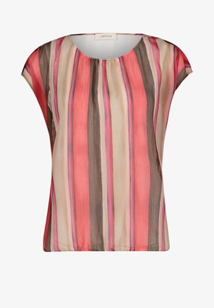 MIT MUSTER - Blouse - beige/pink