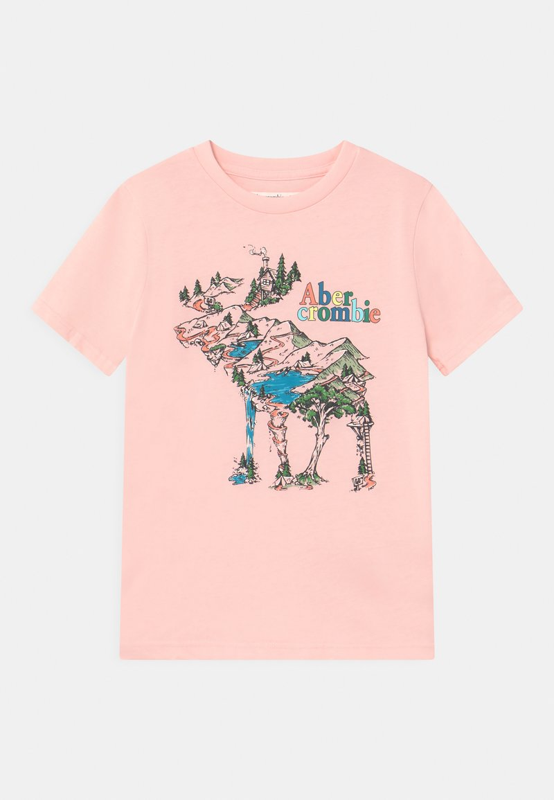 Abercrombie & Fitch - Print T-shirt - pink