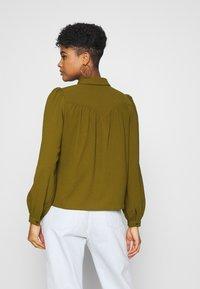 Vero Moda - VMAYA  - Button-down blouse - fir green - 2
