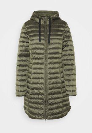 Płaszcz puchowy - olive night