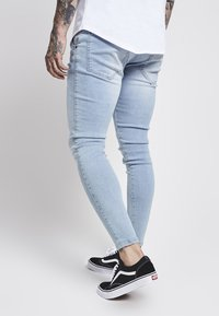 SIKSILK - Skinny džíny - light blue - 4