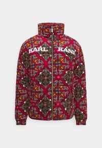 Karl Kani - RETRO REVERSIBLE PUFFER JACKET UNISEX - Lagana jakna - multicolor - 5