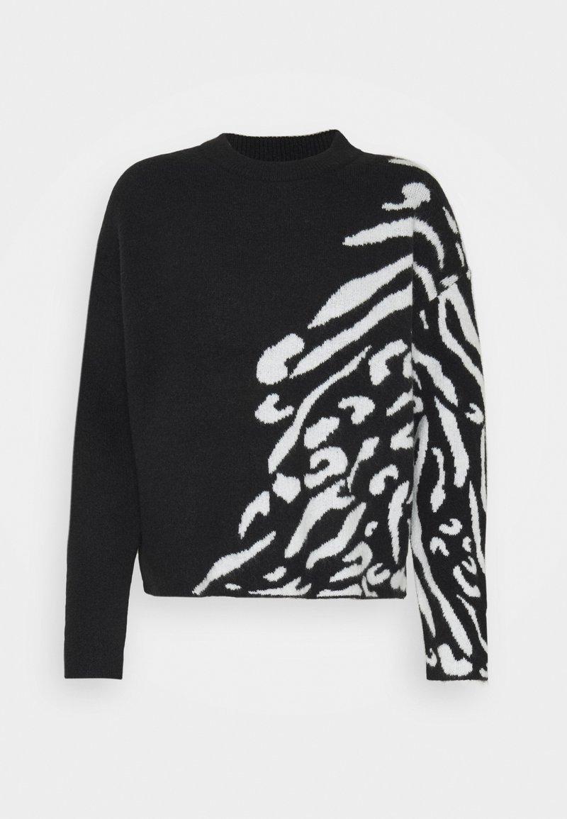 Opus - PEBRANA FRAGMENTS - Pullover - black