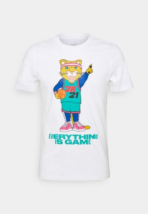NBA 2K DYLAN TEE - Print T-shirt - white/lapis blue