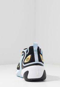 Nike Sportswear - ZOOM 2K - Sneakers - black/metallic gold/white/sail/gym red - 5