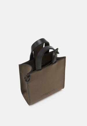 PAPER BAG XXS - Handbag - deep taupe