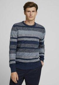 TOM TAILOR DENIM - Jumper - mouline stitch mix pattern - 0