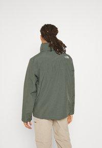 The North Face - SANGRO JACKET - Hardshell jacket - mottled green - 2