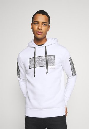 JCOGUNTHER HOOD - Sweatshirt - white