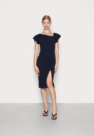 RANI MIDI DRESS - Shift dress - navy blue
