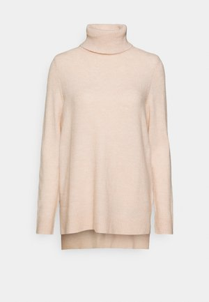 ONLCORINNE HIGHNECK - Jumper - rose smoke