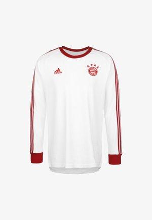 FC BAYERN LICENSED ICON LONG-SLEEVE TOP - Klubbkläder - white