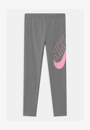 FAVORITES - Legginsy - carbon heather/pink