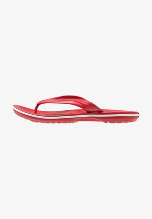 CROCBAND FLIP UNISEX - Pool shoes - pepper/white