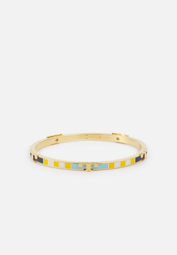 SERIF ENAMEL STRIPED STACKABLE BRACELET - Bracciale - gold-coloured/bright blue/chartreuse