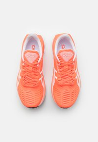 ASICS - NOVABLAST TOKYO - Neutral running shoes - sunrise red/white - 3