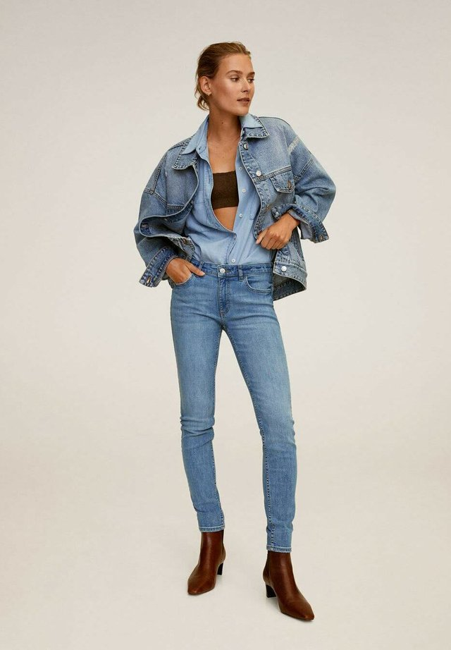 KIM - Jeans Skinny Fit - middenblauw