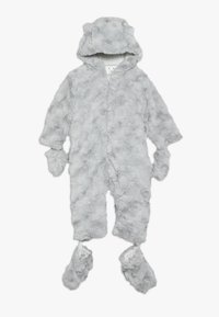 mothercare - BABY FLUFFY SNOWSUIT - Snowsuit - grey - 0