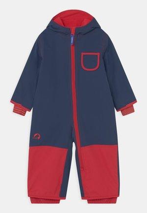 PIKKU UNISEX - Snowsuit - navy/red