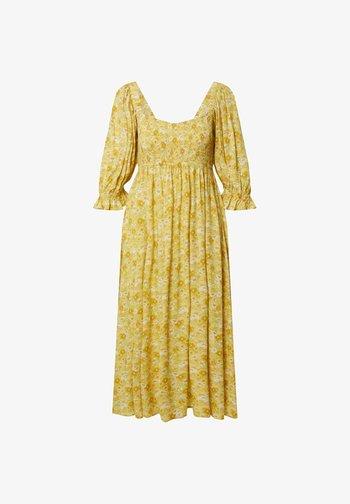 MALEAH - Day dress - yellow
