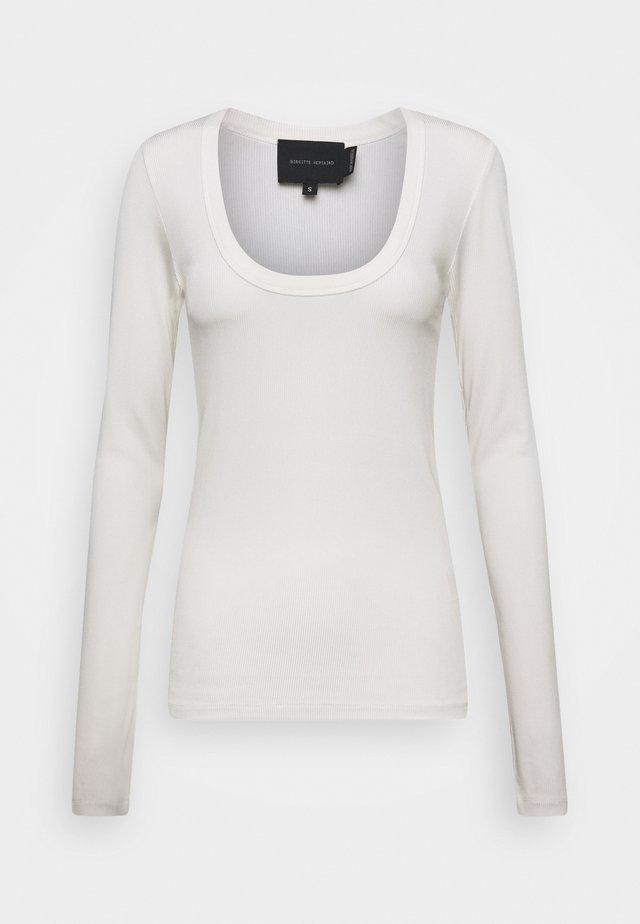 INDY - Maglietta a manica lunga - white