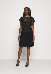 Alberta Ferretti - DRESS - Day dress - black - 0