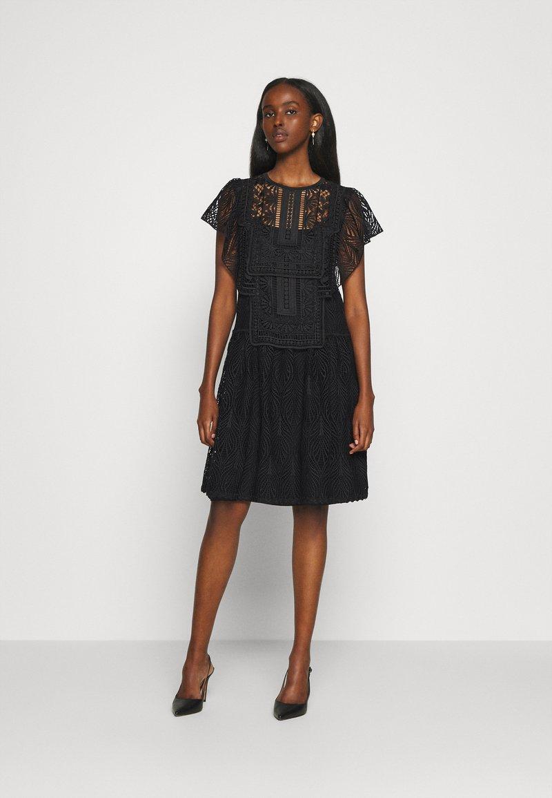 Alberta Ferretti - DRESS - Day dress - black