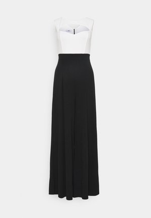 KENDRA CUT OUT - Jumpsuit - black/white