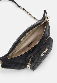 Guess - ILLY CROSSBODY BELT BAG - Bum bag - black - 2