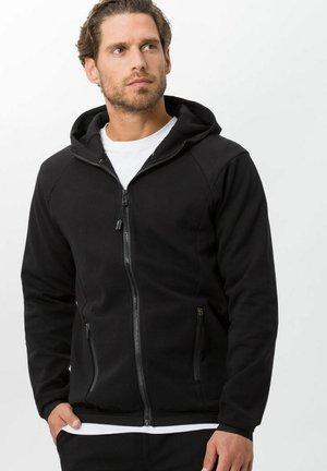 STYLE SAMMY - Zip-up sweatshirt - black