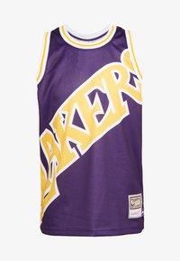 Mitchell & Ness - NBA LA LAKERS BIG FACE LAKERS  - Article de supporter - purple - 4