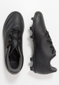 adidas Performance - GHOSTED.4 FXG UNISEX - Moulded stud football boots - core black/grey six - 0