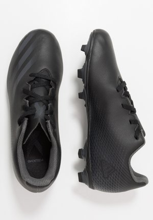 GHOSTED.4 FXG - Moulded stud football boots - core black/grey six