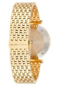 Versace Watches - VERSACE TWIST WOMEN - Zegarek - gold-coloured - 2