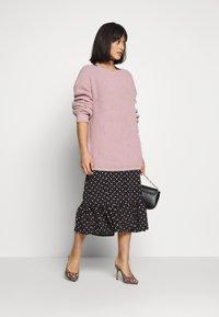 Miss Selfridge Petite - MULTI SPOT - Day dress - black - 1